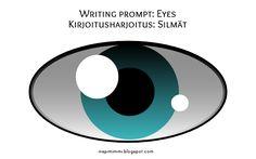 INSPIMIMMI | Eyes and seeing: a writing prompt / Silmät ja näkeminen: kirjoitusharjoitus