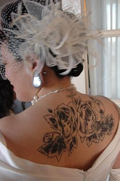 1000 images about tattooed brides on pinterest tattooed for Until death do us part tattoo
