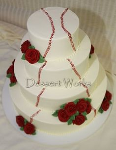 What our wedding cake was modeled after...
