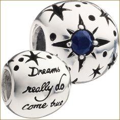 "Chamilia Disney Bead- ""Dreams really do come true"""