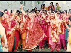 kutt kutt bajra me kothe utte pani aa Geet Shagna De Madan Bala Sindhu Indian Wedding Video, Punjabi Wedding, Punjab Culture, Wedding Songs, Mehndi, Youtube, Decor, Decoration, Decorating