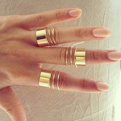Фаланговые кольца. Как носить.