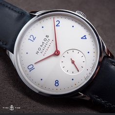 NOW LIVE ONLINE: The @nomos_glashuette Minimatik - a little watch with a big new movement. Full story on the site ️ #nomos #baselworld2015