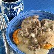 BEST Sausage Gravy and Biscuits EVER!