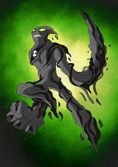 Yep new aliens, gonna make another 10 to make my set an even So without further adue, here's MUDROCK! Mudrock is the Omnitrix's DNA sa. Ben 1000, Symbiotes Marvel, Ben 10 Ultimate Alien, Ben 10 Alien Force, Ben 10 Omniverse, Alien Design, Character Art, Character Design, Venom Art