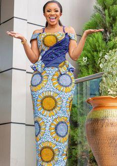 African print Nigerian Dress Styles, Short African Dresses, Latest African Fashion Dresses, African Print Dresses, Ankara Fashion, African Print Clothing, African Print Fashion, Africa Fashion, Latest African Styles