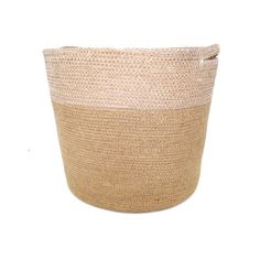 Jute Baskets in Natural & White Stitch (Set of by Doormat Designs. Get it now or find more Boxes & Baskets at Temple & Webster. Jute, House Design, Stitch, Baskets, Natural, Amp, Bedroom, Home Decor, Full Stop