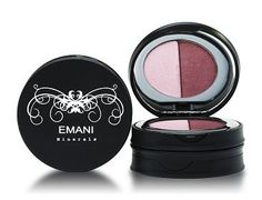 Emani Minerals Duo Eye Shadow  Choose from a selection of Emani Minerals eye shadow duos.Each duo is made up of two complimentary shades for contouring and highlighting.Talc free, paraben free, Vegan and cruelty free.  View this product at... http://www.cocktailcosmetics.co.uk/prod/emani-minerals-duo-eye-shadow