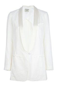 Forte Forte One Button Tuxedo Blazer, $355, available at FarFetch.