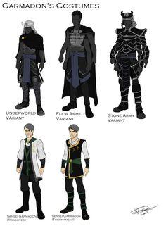 Garmadon's Costume design by joshuad17