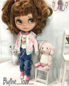 Instagram post by Nata K. • Dec 5, 2018 at 5:02pm UTC Doll Tattoo, Big Eyes, Blythe Dolls, Harajuku, Babies, Toys, Instagram Posts, Style, Baby Dolls