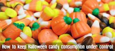 Trick-or-treating is a Halloween staple — but there are still ways to keep your kids from pigging out on sweet stuff. #candy #health #Halloween