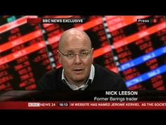 Nick Leeson, the young gambler who found himself sucked into a terrifying spiral of loss was a working-class boy who lived out of his depth, high in an upper-class world, until his unchecked gambling caused the downfall of Britain's oldest merchant bank.  Nick was sentenced to 6 years in a Singaporean jail, his wife left him and whilst in prison developed cancer.   His story was published as a worldwide best-selling book, Rogue Trader and turned into a Hollywood film starring Ewan McGregor.