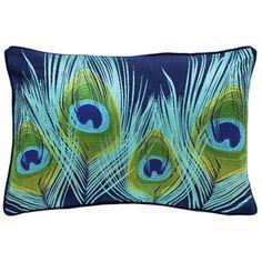 Peacock Embroidery Cushion
