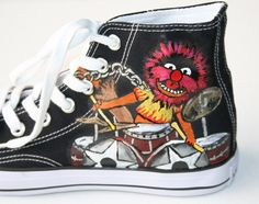 Hey, I found this really awesome Etsy listing at http://www.etsy.com/listing/61587781/converse-adult-custom-painted-muppets