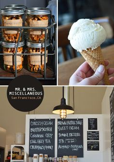 Mr. and Mrs. Miscellaneous ice cream in Dogpatch, San Francisco - photo by Spotted SF