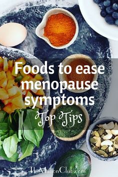 There are certain foods that can REALLY help with menopause symptoms, like hot flushes and night sweats. Here's a full guide to what foods can help and some to avoid too. Click through to read all about it! And please repin to share this great info!