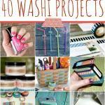 The Washi Blog - 40 Washi Tape Projects
