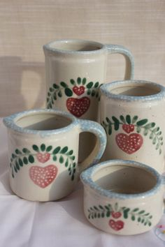 Vintage Country Heart Measuring Cup Set for by OurBackRoadsVintage, $18.00