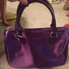 Victoria secret makeup bag In very good condition. Inside is very clean. The bottom of this does have A very very tiny mark (see picture 3) PINK Victoria's Secret Bags Cosmetic Bags & Cases