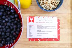 Free Printable Recipe Cards come with a printable backing. Choose your color! These make great gifts, or attach to a potluck dish or a meal being delivered.