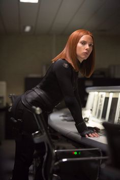Scarlett Johansson as Natasha Romanoff/Black Widow - Captain America: The Winter Soldier