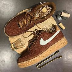 "Nike Air Force one ""Whiskey"""
