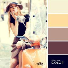 Negros con tonos suaves de marrón, todo un clásico.