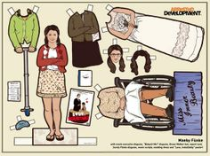 Period Piece Paper Dolls - The Downton Abbey Paper Dolls You Never Knew You Needed (GALLERY)