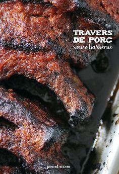 Travers de porc sauce barbecue de Momma Cherri - Momma Cherri's barbecue ribs
