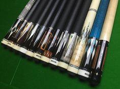 Butt sleeve which do you like?#billiards #billiardcue #eclatcue #weilucue #eclatbilliard