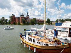 Gripsholm, am See Mälaren, im schwedischen Mariefred: Schauplatz von Tucholskys schöner Sommergeschichte.
