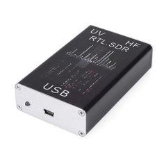 100KHz-1.7GHz Full Band RTL-SDR Sintonizador USB Receptor / R820T+8232 Radio Ham