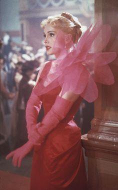 "Zsa Zsa Gabor in "" Moulin Rouge"" 1952, costume by Schiaparelli"
