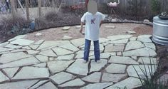 modern flagstone walkway ideas step 4 make sure each stone is