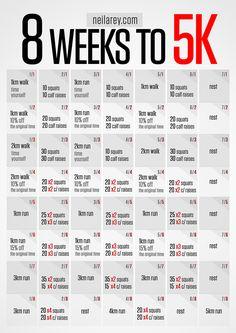 8 week to running 5K