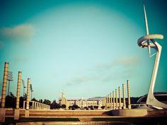 Calatrava's Tower & i Olympic Stadium