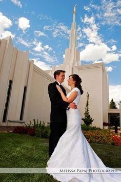 Image result for denver temple wedding