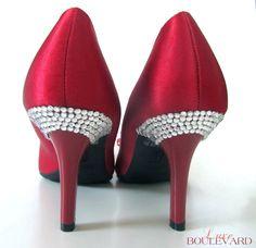 Rhinestone shoes tutorial