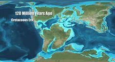 Afbeeldingsresultaat voor world map 10 million years ago