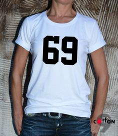 NEW 69 T-Shirt / Unisex Cotton Print Tee / Fashion by Cotton9