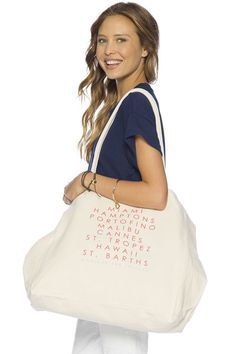 Peace Love World Destinations Luly Bag....Great Summer Travel Bag!