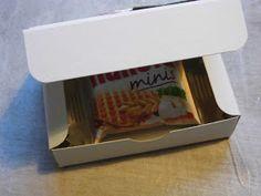 Kreativ am Deich : .....kleine Schachteln für Schokolade....