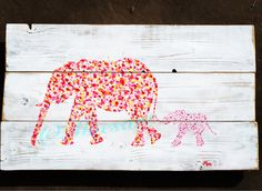 #elephant #art #reclaimedwood #moesart.etsy.com