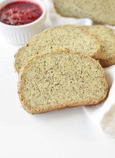KETO Gluten free Vegan bread recipe Easy, Yeast free with only grams net carbs per slices. A delicious dense bread with wholegrain flavor. Low Carb Vegetarian Diet, Vegan Keto Recipes, Easy Bread Recipes, Tofu Recipes, Healthy Eating, Healthy Recipes, Low Carb Flour, Low Carb Bread, Vegan Bread