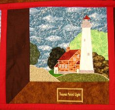 August Quilt Showcase 2009 Tawas Point Light2