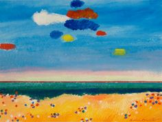 Sea with clouds Aldemir Martins (Brasil 1922-2006)