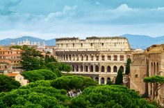 Rome, Italy. A city filled with the ruins of the ancient civilization of the same name.