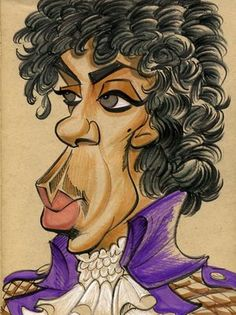 Prince (by Zack Wallenfang)FOLLOW THIS BOARD FOR GREAT CARICATURES OR ANY OF OUR OTHER CARICATURE BOARDS. WE HAVE A FEW SEPERATED BY THINGS LIKE ACTORS, MUSICIANS, POLITICS. SPORTS AND MORE...CHECK 'EM OUT!! Anthony Contorno Sr