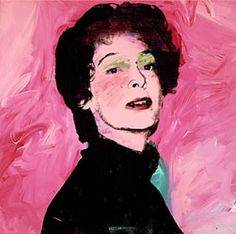 Andy Warhol, Portrait of Marella Agnelli, 1972